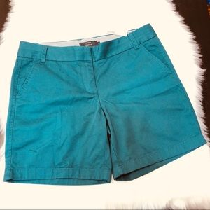 NWT J.crew Chino Shorts Dark Green